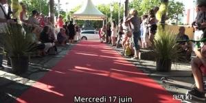 Montée des Marches mercredi 17 juin Festival Les Hérault du Cinéma 2015