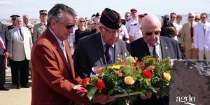 Commémoration du débarquement de provence 15 août 1944 Agde Le Cap d'Agde