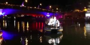 ZAZIE l'Heureux Tour sur la scène flottante d'Agde