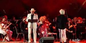Concert de l'Orchestre Agapé sur la scène estivale Agde