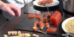 Sucettes de foie gras au chocolat Ghislaine Arabian & Jean-Pierre Jacquin