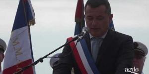 Cérémonie du débarquement en Provence du 15 aout 1944 Agde Le Cap d'Agde