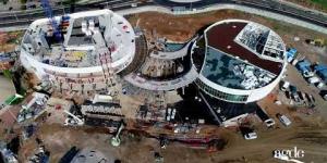 Construction du Palais des Congrès et du Casino - Episode 5