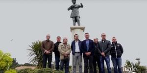 Inauguration de la statue du Césarion Agde Le Cap d'Agde