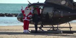 Le Père Noël au Grau d'Agde