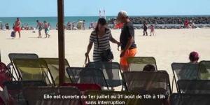 «Lire à la plage» Espace de lecture Mail de Rochelongue Le Cap d'Agde 2019