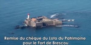 Mission Patrimoine : un chèque de 228 000 € pour le Fort de Brescou