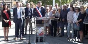 Hommage au Président Jacques Chirac - Agde