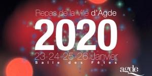 Repas de la Ville d'Agde 2020