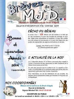 Brèves de la MJD n°3 Janvier 2014