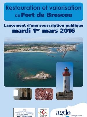 Bulletin de souscription Fort de Brescou Agde