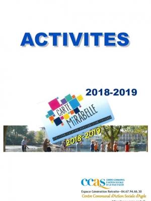 Ateliers 2018-2019