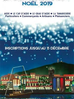 Bulletin inscription concours illuminations noel 2019