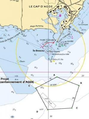Consultation publique projet création réserve marine du Roc de Brescou