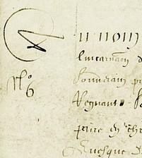 AA2 : Cartulaire de 1602 - 2éme partie du 1er volume