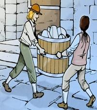 La vente de la glace
