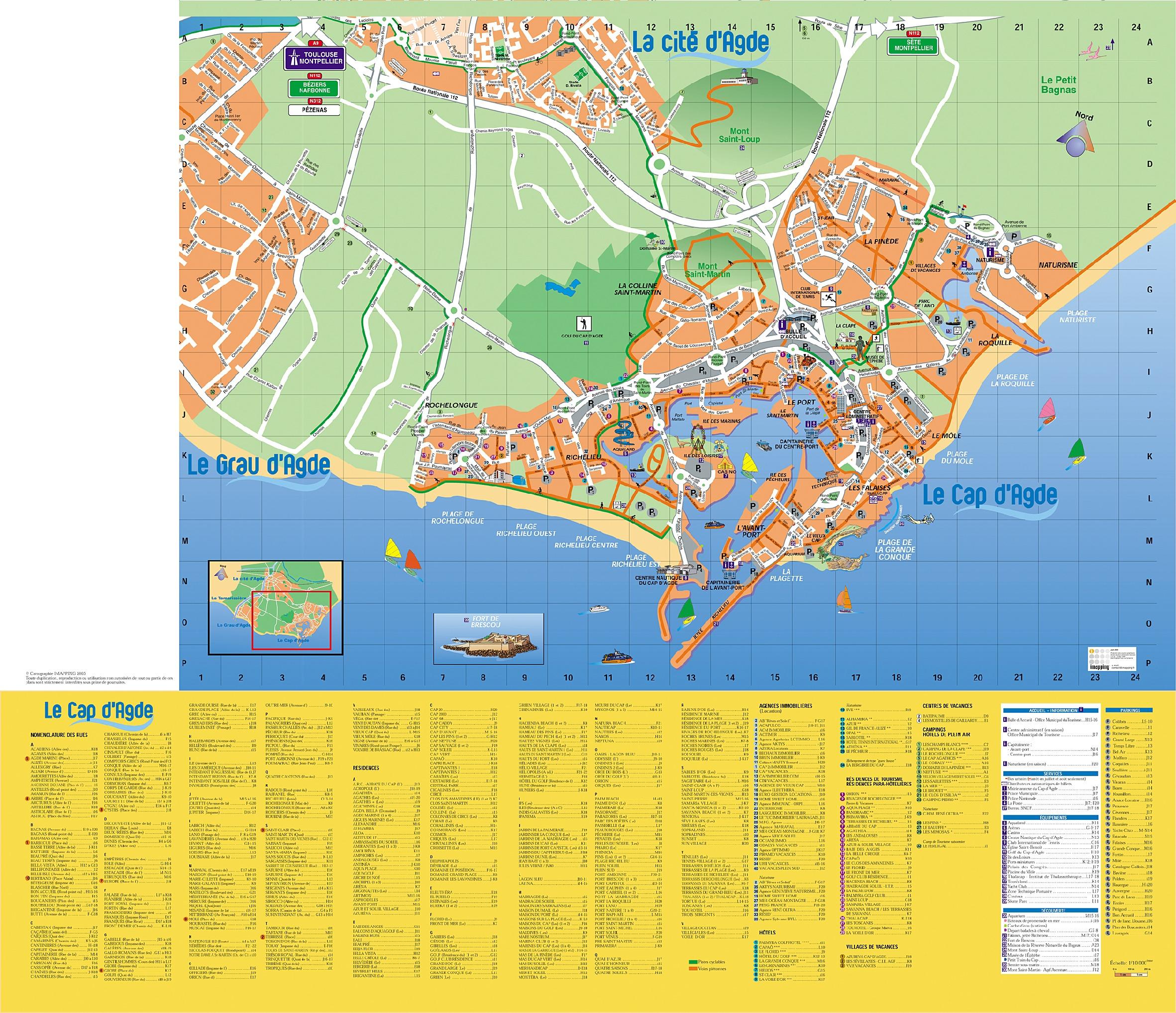 Plan du Cap dAgde