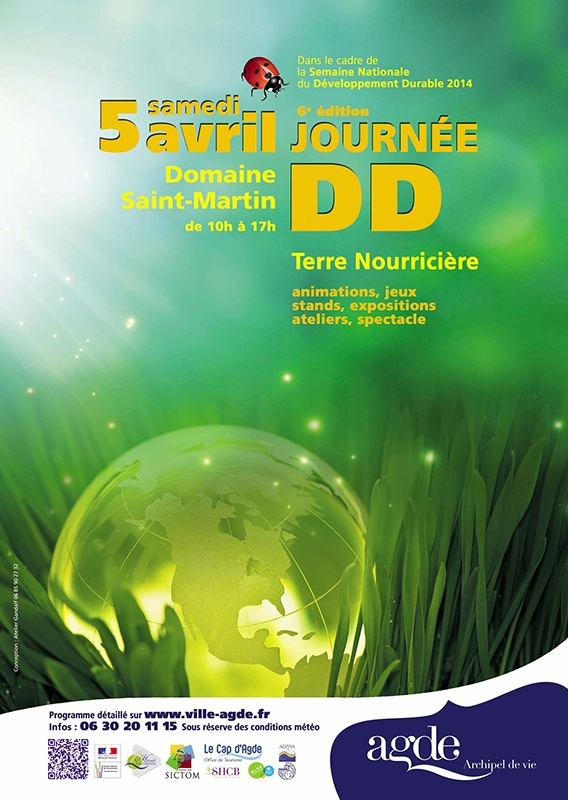 Bekannt Semaine Nationale du Développement Durable | Ville d'Agde UT75