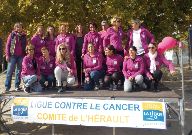 Agde se ligue contre le cancer du sein