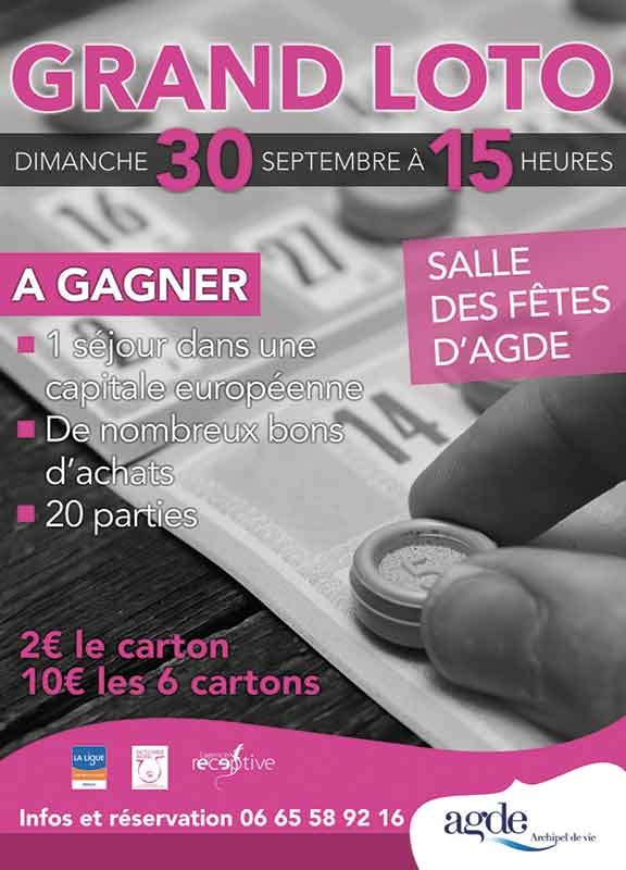 Grand Loto Octobre Rose
