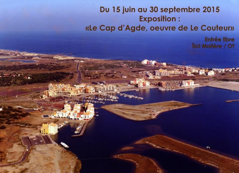 15 06 15 lecapdagde lecouteur1972 for Projet cap d agde 2020