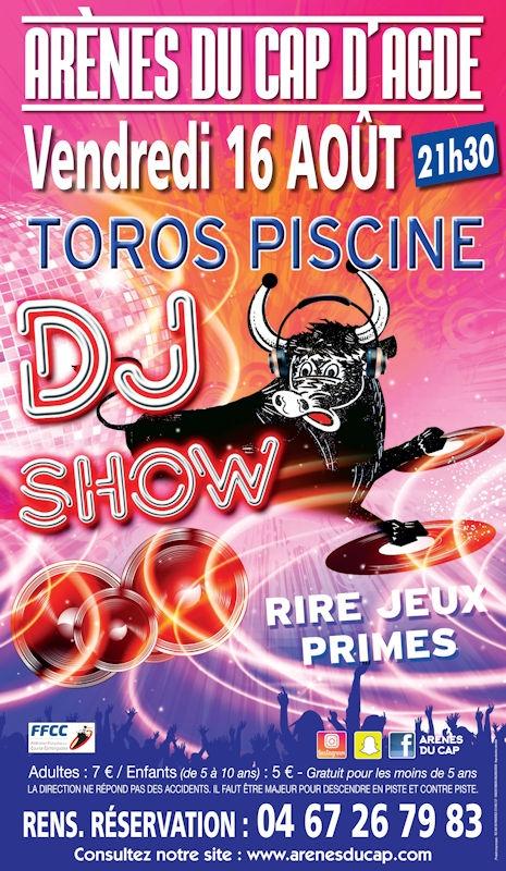 Ffcc Calendrier 2020.Toro Piscine Dj Show Au Cap D Agde Agenda Ville D Agde
